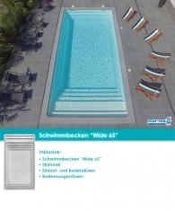 MdP Schwimmbecken Wide 65