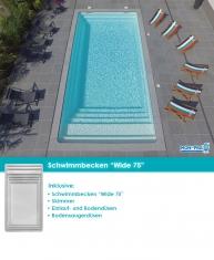 MdP Schwimmbecken Wide 75