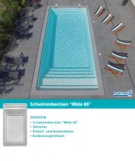 MdP Schwimmbecken Wide 85