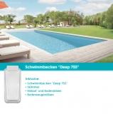 MdP Schwimmbecken Deep 755