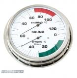 Sauna-Hygrothermometer mit Flansch