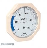 XXL Holz-Sauna-Hygrothermometer