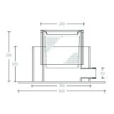 Edelstahlkorb - Maschenweite 2mm  für Schwimm-Skimmer SKIM 300s