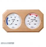 XL Holz-Sauna-Hygrothermometer