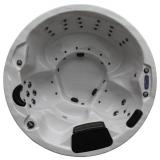Circle Lux 60 – Runder Außenwhirlpool für 6 Personen