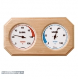 Holz-Sauna-Hygrothermometer