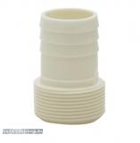 Schlauchtülle mit Gewinde 38 mm