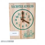 Aufguss-Uhr mit Sortenkarten
