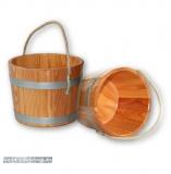 Sauna-Kübel aus Lärche
