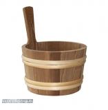 Sauna-Kübel wärmebehandelt