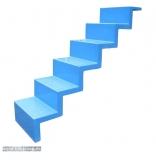 Universaltreppe zum nachträglichen Einbau