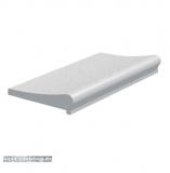 Beckenrandsteine Weiß, für 2,5 x 5,0 m Ovalformbecken